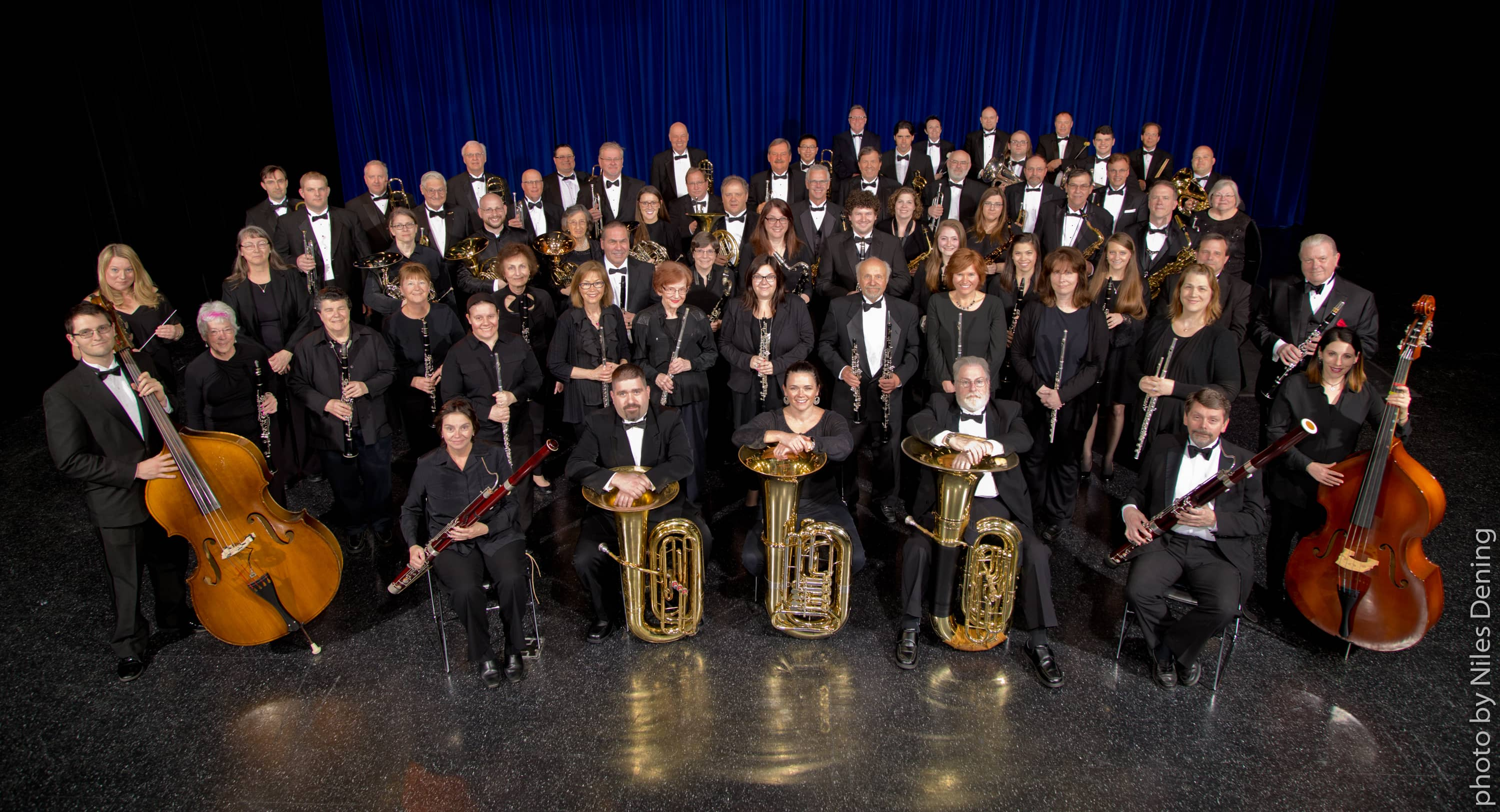 Buffalo Niagara Concert Band - 2017 Photo by Niles Dening
