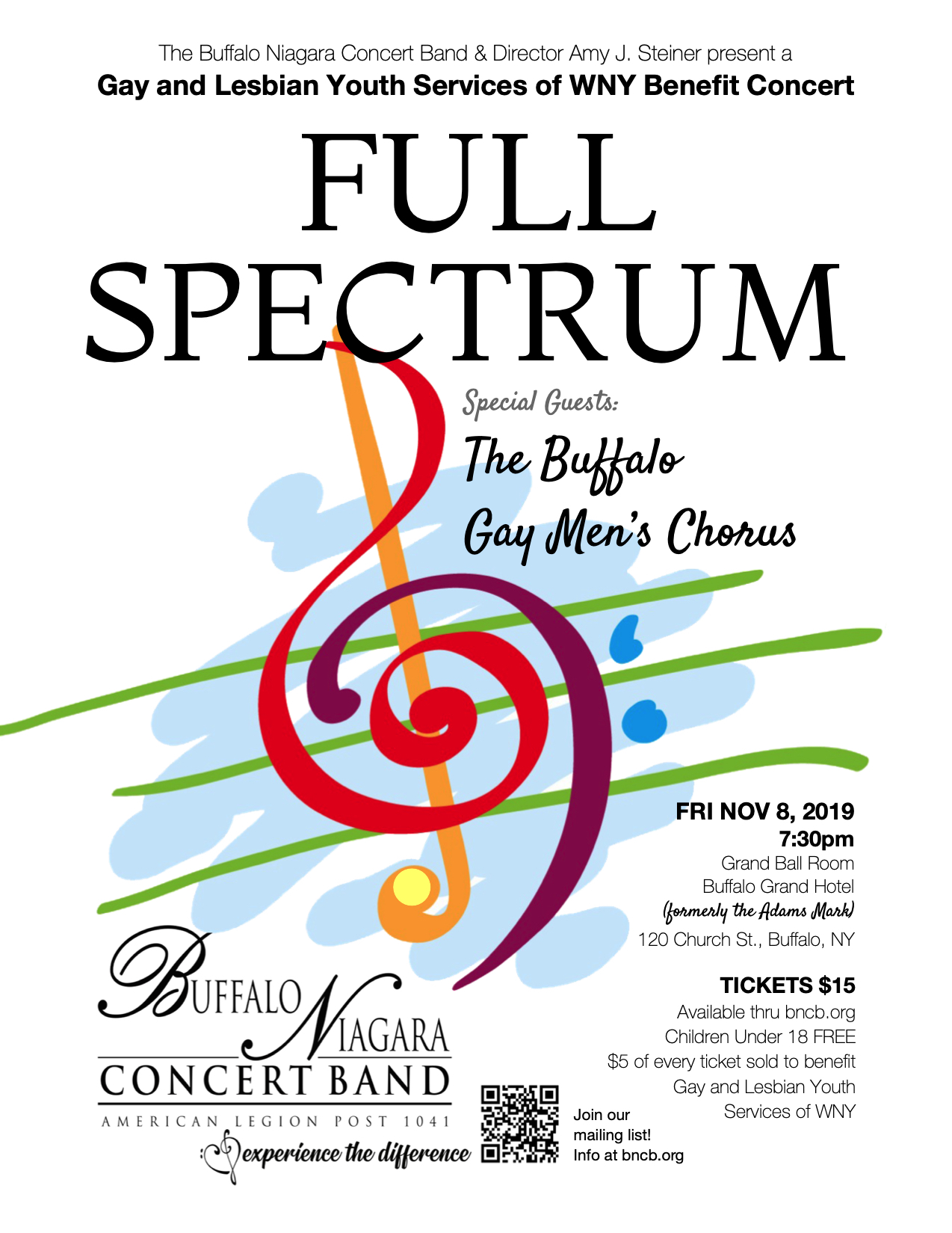 Full Spectrum — Fall Concert @ Buffalo Grand
