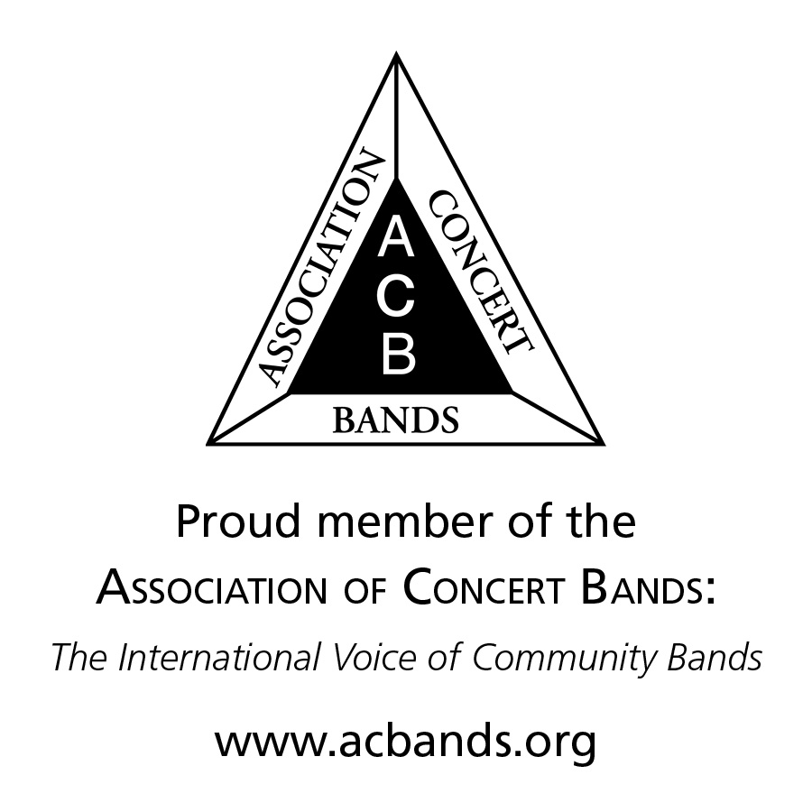 Proud member of the Association of Concert Bands.